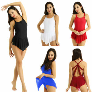 Women-039-s-Ice-Figure-Skating-Dress-Ballet-Leotard-Competition-Performance-Dresses