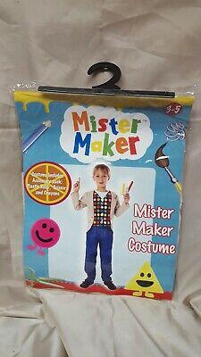 2019 Ultimo Disegno Mister Maker Nuovo Di Zecca 3 - 5 Costume Cbeebies Forme Giornata Mondiale Del Libro-mostra Il Titolo Originale