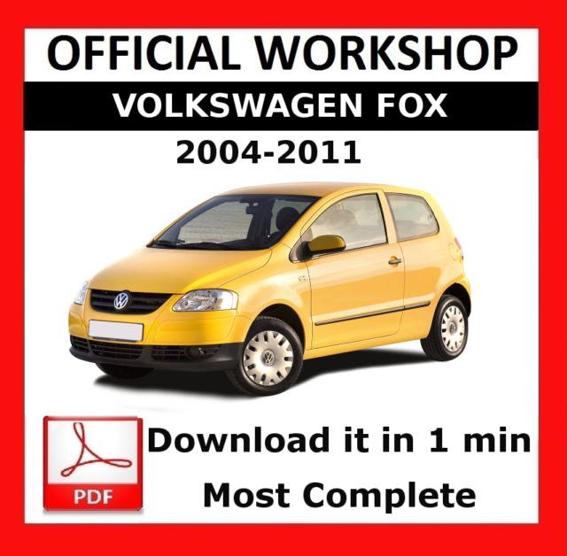 official workshop manual service repair volkswagen fox 2004 2011 rh ebay co uk 1988 vw fox repair manual vw fox 2006 workshop manual