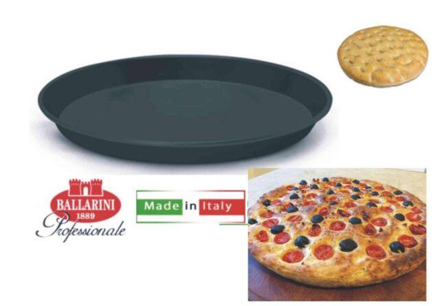 TEGLIA PIZZA TONDA PROFESSIONALE DM 32 H 2,5 FERRO BLU BALLARINI GS PIZZERIA
