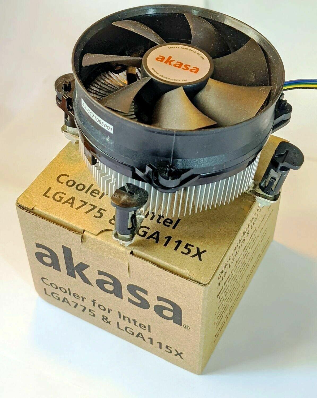AKASA Cooling Fan LGA 1151 Socket (H4) LGA 1150 LGA 775 CPU Cooler