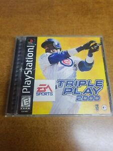 Triple-Play-2000-Sony-PlayStation-1-1999-Complete-Tested