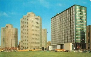 Postcard-Gateway-Center-and-State-Building-Pittsburgh-PA