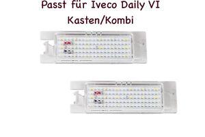 2x TOP LED SMD Kennzeichenbeleuchtung Iveco Daily VI Kasten/Kombi (XL)