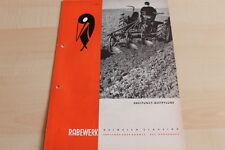 144490) Rabewerk Dreipunkt Beetpflüge Prospekt 07/1967