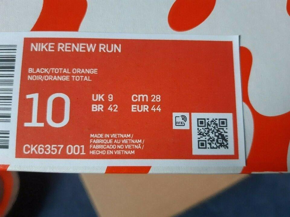 Løbesko, NIKE Renew, str. UK9/44