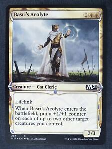 Basri's Acolyte Alt Border Foil - Mtg Magic Cards #KS