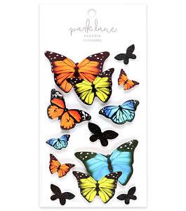 Butterflies-3D-Stickers-Planner-Scrapbook-Stickers-Embellishments-Crafts