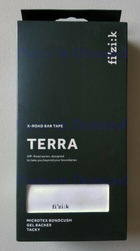Fizik Terra Microtex Bondcush Performance Tacky 3mm Handle Bar Tape Black Green