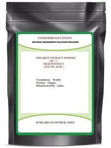SHILAJEET ( 20:1 ) EXTRACT POWDER  FULVIC ACIDS  PURE AND NATURAL  Free shipping