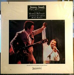 SEALED-Kenny-Burrell-w-JIMMY-SMITH-LP-034-Keep-On-Comin-034-1983-Johnny-Griffin