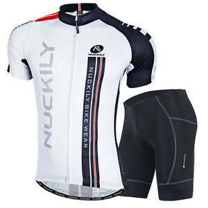 Men-039-s-Cycling-Bike-Short-Sleeve-Clothing-Set-Bicycle-Sports-Suit-Jersey-Shorts