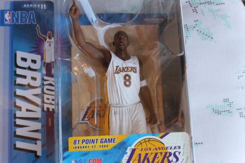 KOBE BRYANT NBA 11 L A LAKERS 81 Point Game MCFARLANE
