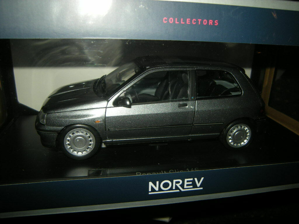 entrega de rayos 1 18 norev Renault Clio 16s tungstene gris gris gris gris nº 185234 en OVP  en promociones de estadios