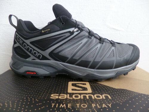Salomon Sportschuhe Halbschuhe Sneakers X ULTRA 3 WIDE grau wasserdicht Neu!!!