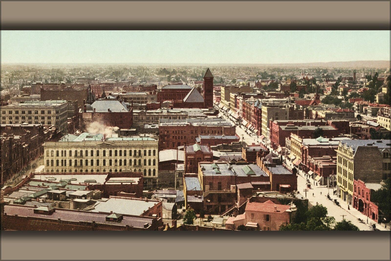 Plakat, Viele Größen; Los Angeles 17897u