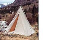 Canvas Range Tent  8'x8' with Bi-Pole