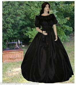 LADIES-VICTORIAN-AMERICAN-CIVIL-WAR-COSTUME-3PC-BL