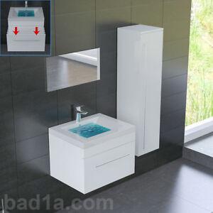 Badmöbel Weiterstadt bad1a badezimmermöbel waschtisch badmöbel set waschbecken mit
