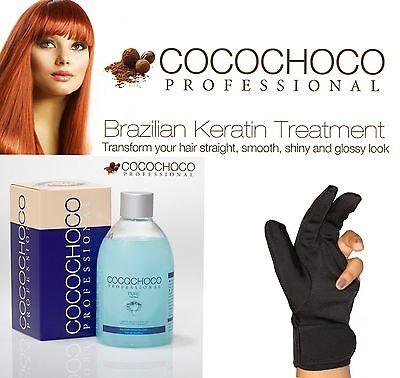 COCOCHOCO PURE BRAZILIAN KERATIN TREATMENT BLOW DRY HAIR STRAIGHTENING 250ML +