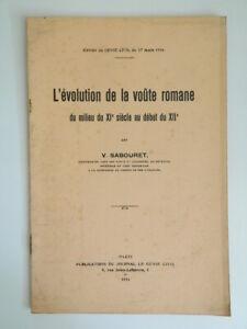 Victor Sabouret Evolución de La Techo Novelas de La Medio Xie Siglo XII 1934