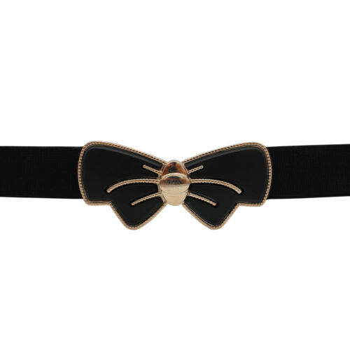 Blackbutterfly VINTAGE SLIM Farfalla Elastico Girovita Vestito Cintura