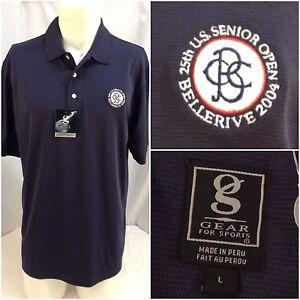 U-S-Senior-Open-Bellerive-Golf-Pique-Polo-Mens-L-Gear-For-Sports-NWT-YGI-N9-525