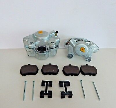 New Pair of Brake Calipers for Triumph Spitfire 100/% New W Stainless Pistons