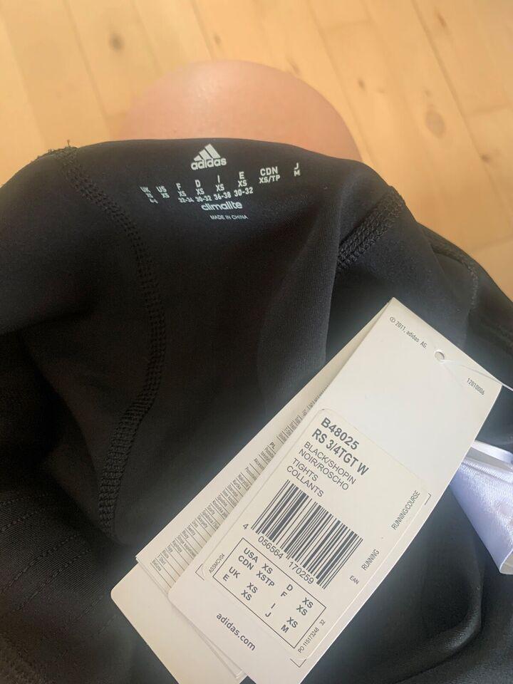 Fitnesstøj, 3/4 tights , Adidas response
