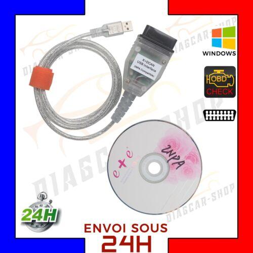 Interface Diagnosis INPA SSS Ediabas K+DCAN D CAN USB OBD2 EOBD Cable Pr BMW