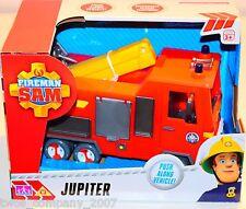 Fireman Sam Jupiter Fire Engine Push Along Toy New