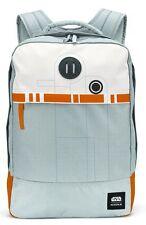 NIXON Beacons Backpack STAR WARS BB-8 Silver Orange  |  Rucksack