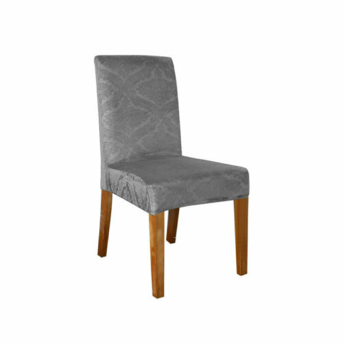Embossed Dining Chair Covers Waterproof Slipcovers Wedding Home Party Seat Cover
