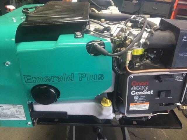 Onan 4000 RV Generator Camper Car Trailer 4.0 KW Onan Microquiet Wiring Diagram on onan fuel pump wiring diagram, onan rv generator wiring diagram, onan emerald 4000 wiring diagram,