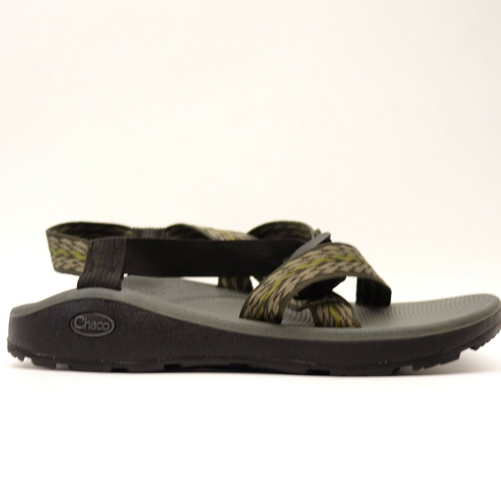 Chaco Mens Z1 Classic Black Fast Drying Comfort Casual Sandals Size 12