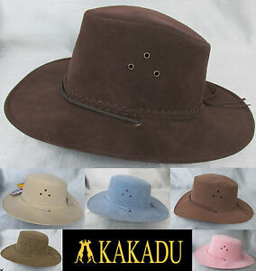 f5a68e6144d KAKADU SOAKA Poly Suede Australian Mens Womens Hat Western Cowboy ...