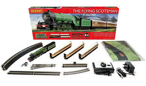 R1167-Hornby-Flying-Scotsman-Model-Electric-Train-Set-OO-Gauge-Best-Lowest-Price