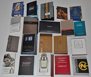 20 Mens Designer Cologne Samples Lot 1 Million A*men Gucci Prada ...