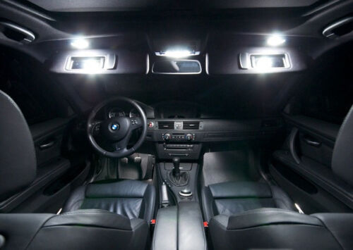 Error Free White 18 Lights SMD LED Interior Kit For BMW X6 F16 X6M 2015-2017