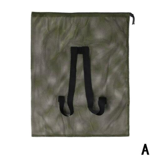 Duck Decoys Bag Storage Mesh Bag With Shoulder Straps Large Decoy For Camping
