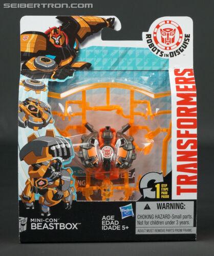 Mini-détenu beastbox Transformers Robots in Disguise RID Hasbro 2015 Autobot NEUF