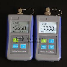 Fiber Optic Optical Laser Light Source 13101550nm Digital Optical Power Meter