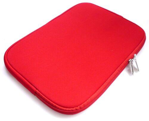 """Stilisch Premium Neopren Reißverschluss-tasche Abdeckung für 7-8 /"""" Zoll Tablet"""
