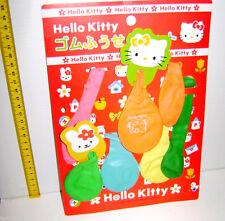 HELLO KITTY 2001  Sanrio Japan party ballons kit - set palloncini