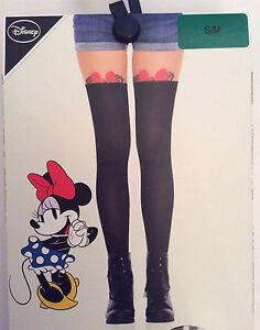 Primark-Ladies-Disney-Minnie-Mouse-Peek-a-boo-Fashion-Stockings-Collants-Collants