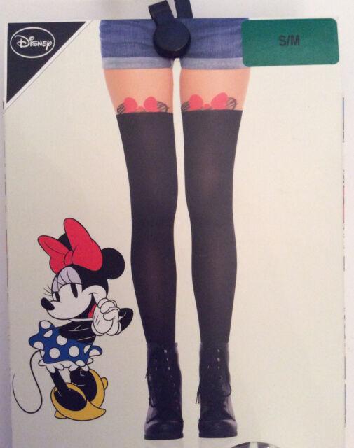 Primark Ladies Disney Minnie Mouse Peek-a-boo Fashion Stockings Collants Collants