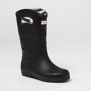 Target Kids Tall Rain Boots Black