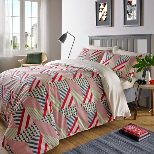 Various Sizes 200TC Luxury Damask Floral Printed Duvet Quilt Cover Bedding Set