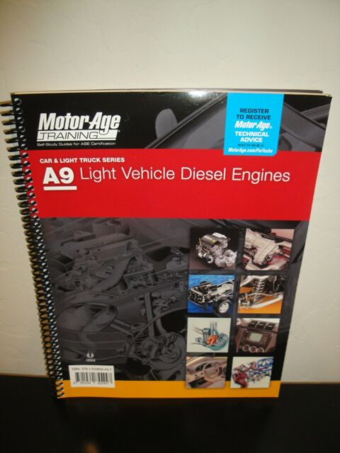 ase diesel study certification training packaging lowest a9 age motor undamaged unopened unused priced