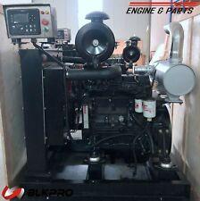 New Power Unit Original Cummins 125 Hp Engine Complete Set 39l B39 4b No Core